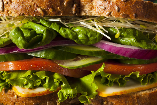 brancatos express veggie sandwich