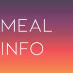 meal info